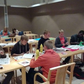 Workshops with Ounasvaara ylä-aste (Secondary School) - 2013