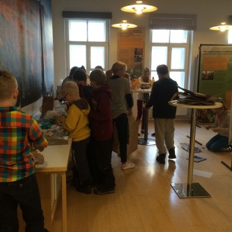Workshops with the Finnish School of St Petersburg  - January 2015