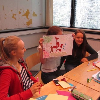 Workshop with the French-Finnish high school in Helsinki - 2014