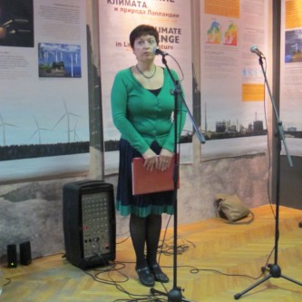 Irina Shevchuk, curator at the Regional Museum of studies - Murmansk