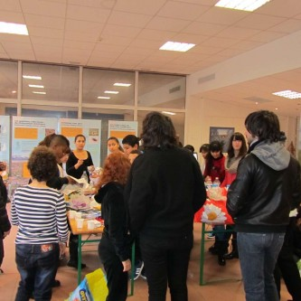 Workshop with Secondary School - Collège Mistral of Nice at Parc Phoenix, Nice (14.1.2014)