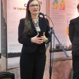 Stéphanie C. Lefrère, scientific commissioner of the exhibition